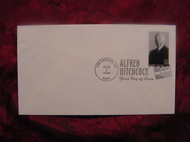 RARE First Day Cover FDC ALFRED HITCHCOCK August 3 1998 Los Angeles CA - $6.00