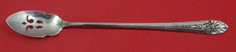 """Royal Windsor By Towle Sterling Silver Olive Spoon Pierced Long 7 7/8"""" Custom - $59.00"""