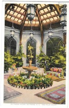 NC Biltmore House Palm Court Viintage Photostint North Carolina Postcard  - $4.99