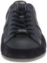 Hugo Boss Green Men's Premium Sport Fashion Sneakers Running Shoes Spacit image 13