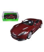 Aston Martin Vanquish Bronze 1/24 Diecast Model Car by Welly 24046brnz - $29.95