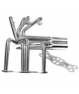 FOR Small Block Chevy SBC V8 Classic T Bucket Roadster Headers Sliver - $121.26