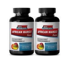 Weight Loss Pills - African Mango L EAN Extract - Mango Vitamins - 2 Bottles 120 - $24.95
