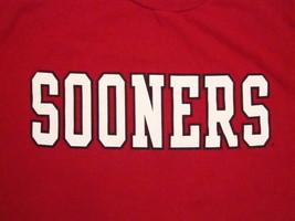 NCAA OU Sooners Oklahoma University College Football T Shirt L - $18.75