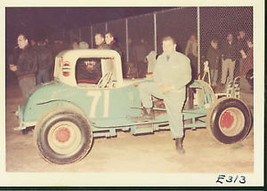 #71 MODIFIED-COLOR AUTO RACING PHOTO-1964 - $12.37