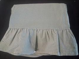 Ralph Lauren Sage Gingham 1 Standard Pillowcase... - $9.85