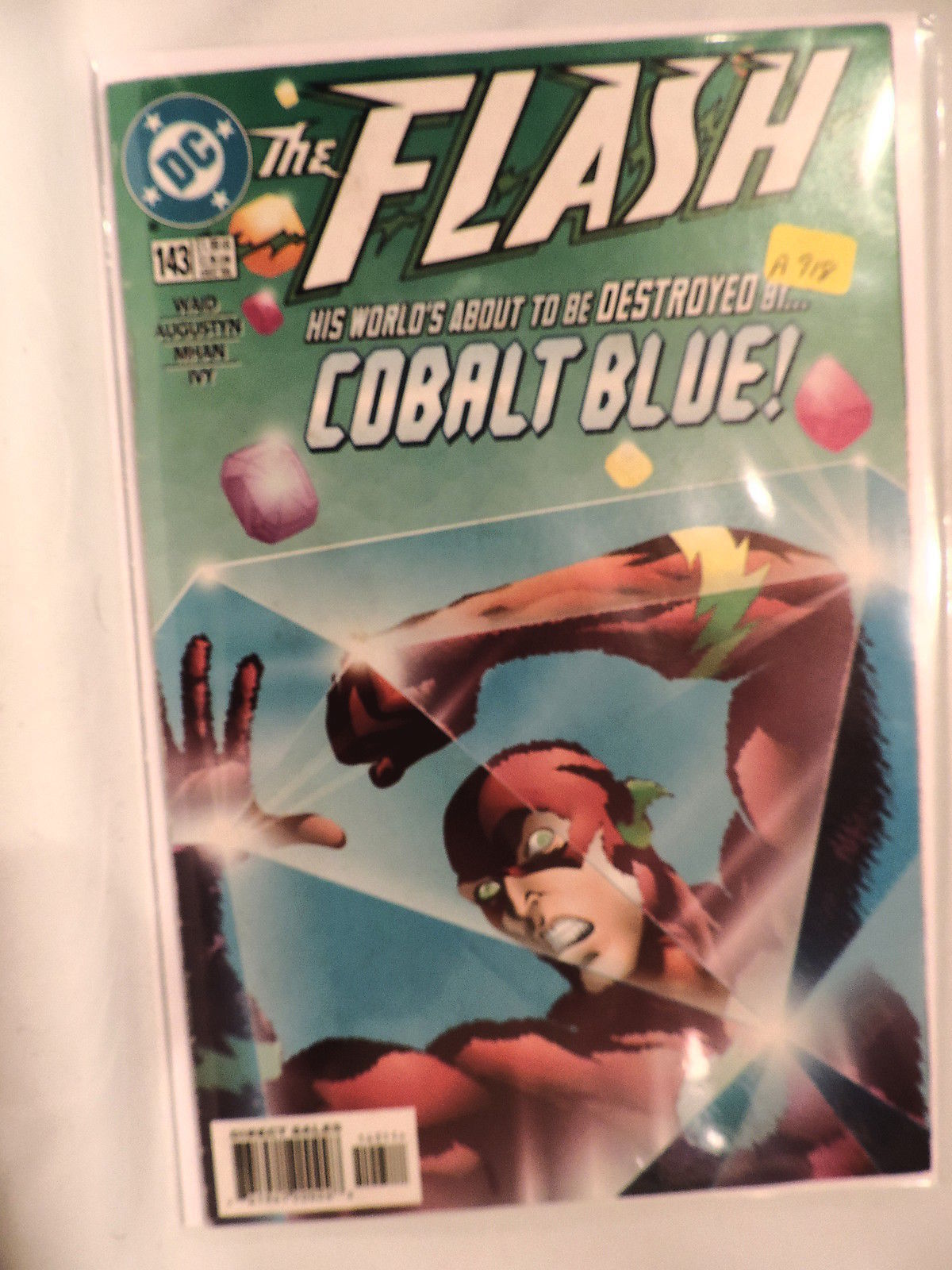 #143 The Flash  1998 DC Comics A918