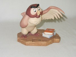 "Disney Pooh & Friends Owl Vintage Figurine ""You've Done a Very Grand Thing"" - $19.79"