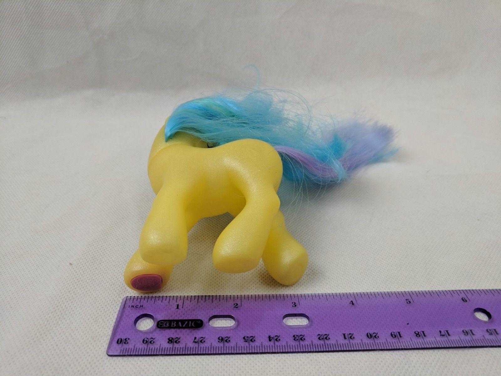 My Little Pony MEADOWBROOK Yellow Blue Purple G3 Hasbro