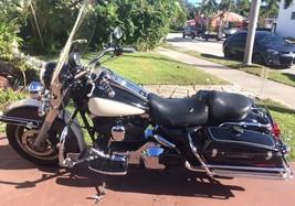 2001 Harley Davidson Road King Police Mike Motorcycle, BLACK/WHITE, 68K Miles - $5,850.00