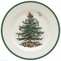 ENGLAND S3324-U SPODE CHRISTMAS TREE DINNER PLATES (S) - $23.36