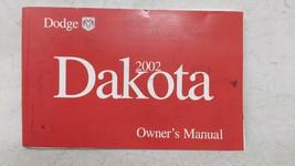 2002 Dodge Dakota Owners Manual 52700 - $22.72