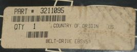Polaris 3211095 Inside Only Scored ATV Drive Belt Genuine OEM part image 6