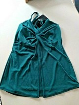 Miracle Suit Nile Blue Love Knot Top Size 8 image 2