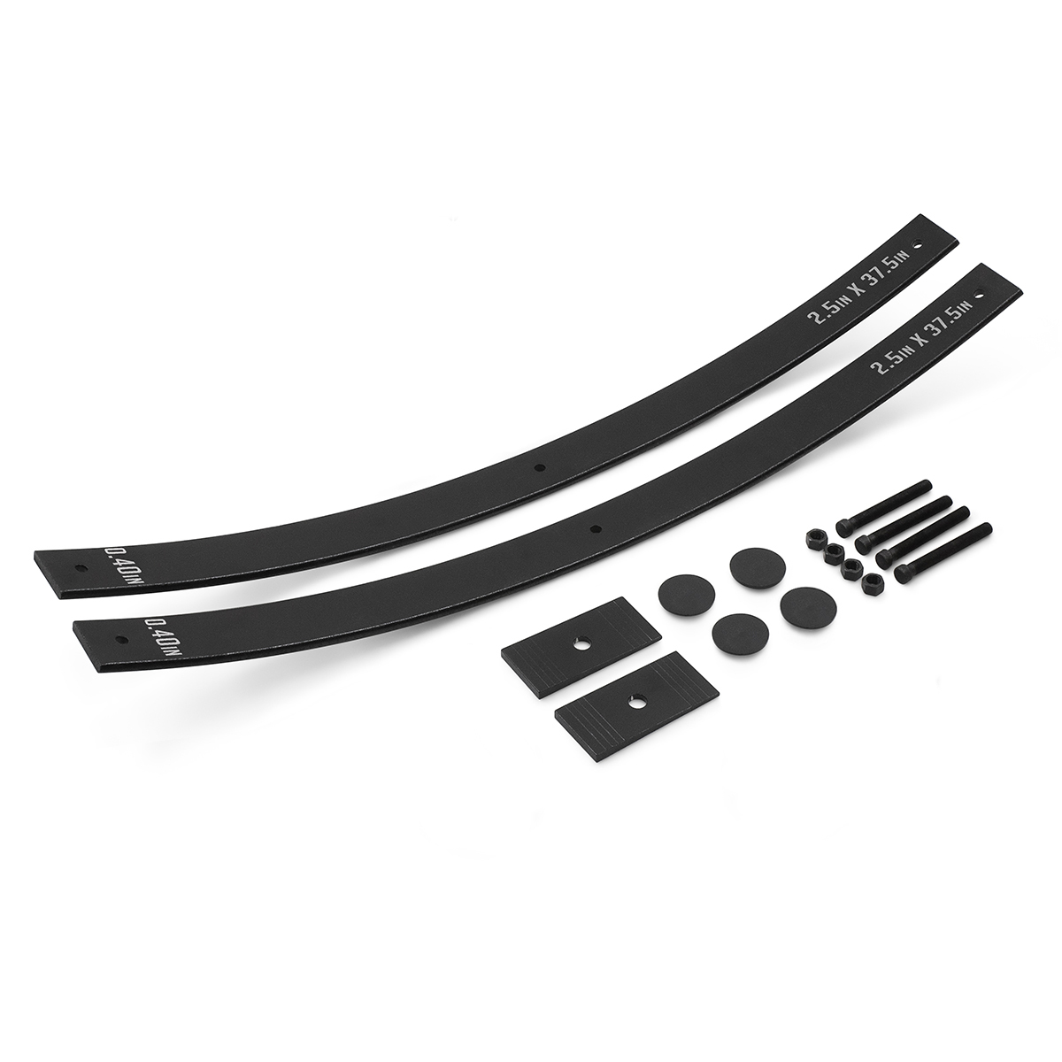 "Primary image for 2"" Lift Long Add-a-Leaf Kit w/Shims Fits 2000-2010 Chevy Silverado 2500HD"