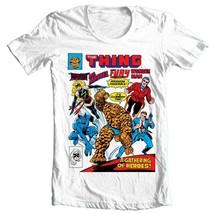The Thing Wonder Man Beast Ms Marvel Fury comics bronze age cotton graphic tee image 1