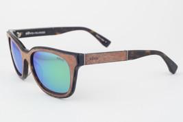 Revo 1007-02 GGN Drake Natural / Green Mirrored Polarized Sunglasses - $175.91