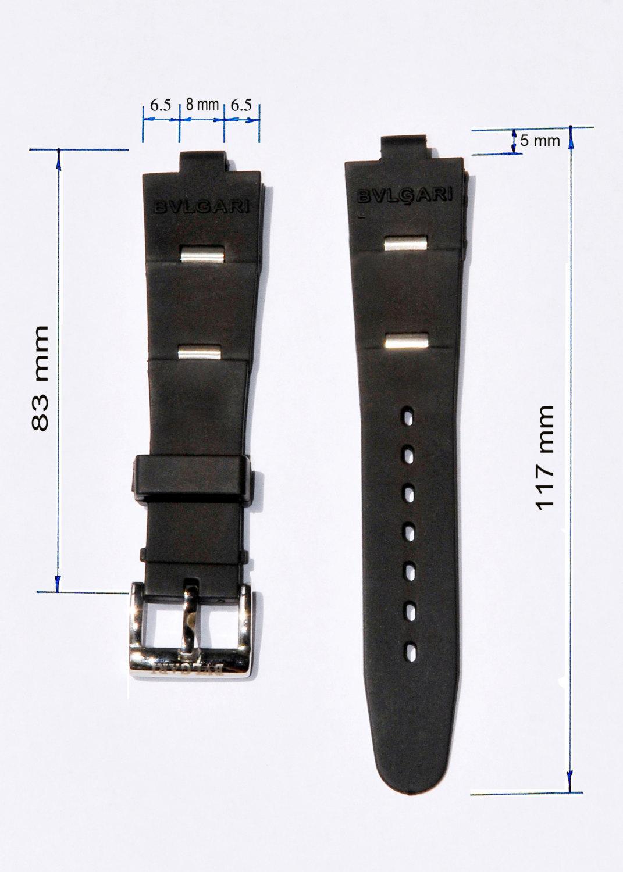 New Watch Replacement Band Strap fits BVLGARI BULGARI Aluminum, Diagono, Scuba M - $100.00