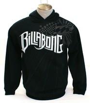 Billabong Signature Black Hooded Sweatshirt Hoodie Youth Boy's XL NEW - $64.34