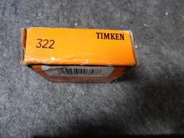 Timken Tapered Roller Bearing 322 image 2