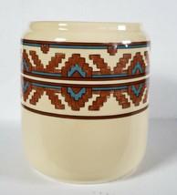 R.B. Bernarda Portugal Vintage Ceramic Geometric Pottery Crock Utensil H... - $20.65