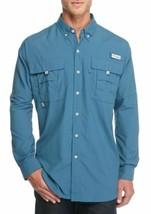 Columbia PFG Bahama II Men's Vented Shirt Size 2X, UPF 30, Long Sleeves, Fishing - $32.96
