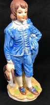 The Blue Boy By Sir Thomas Gainsborough Porcelain Ceramic Figurine Statue - $89.99