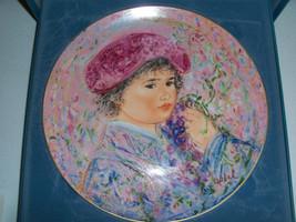Edna Hibel Nobility Of Children Le Marquis Maurice Pierre Collectors Plate - $34.95