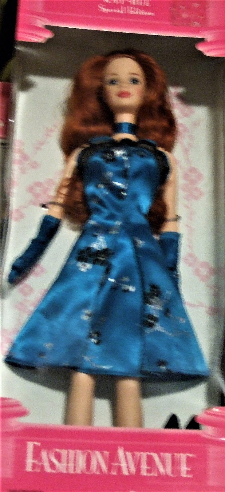 Barbie Doll - FASHION AVENUE Kay-Bee Special Ed (1998) Long Red Hair image 7