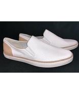 Ugg Australia Adley Perf White Leather Shoes 1019690 Slip On Fashion Sne... - $79.99
