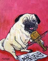 animal Art oil painting printed on canvas home decor RETRIEVER dog  - $14.99+