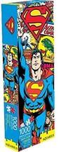 Superman Retro DC 1000 pieces puzzle Aquarius image 1