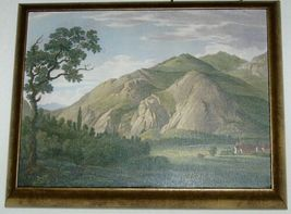 Astral Direct 5842 Tranquil Valley 1 and 2 Painting Set Melling Bronze Frame image 4
