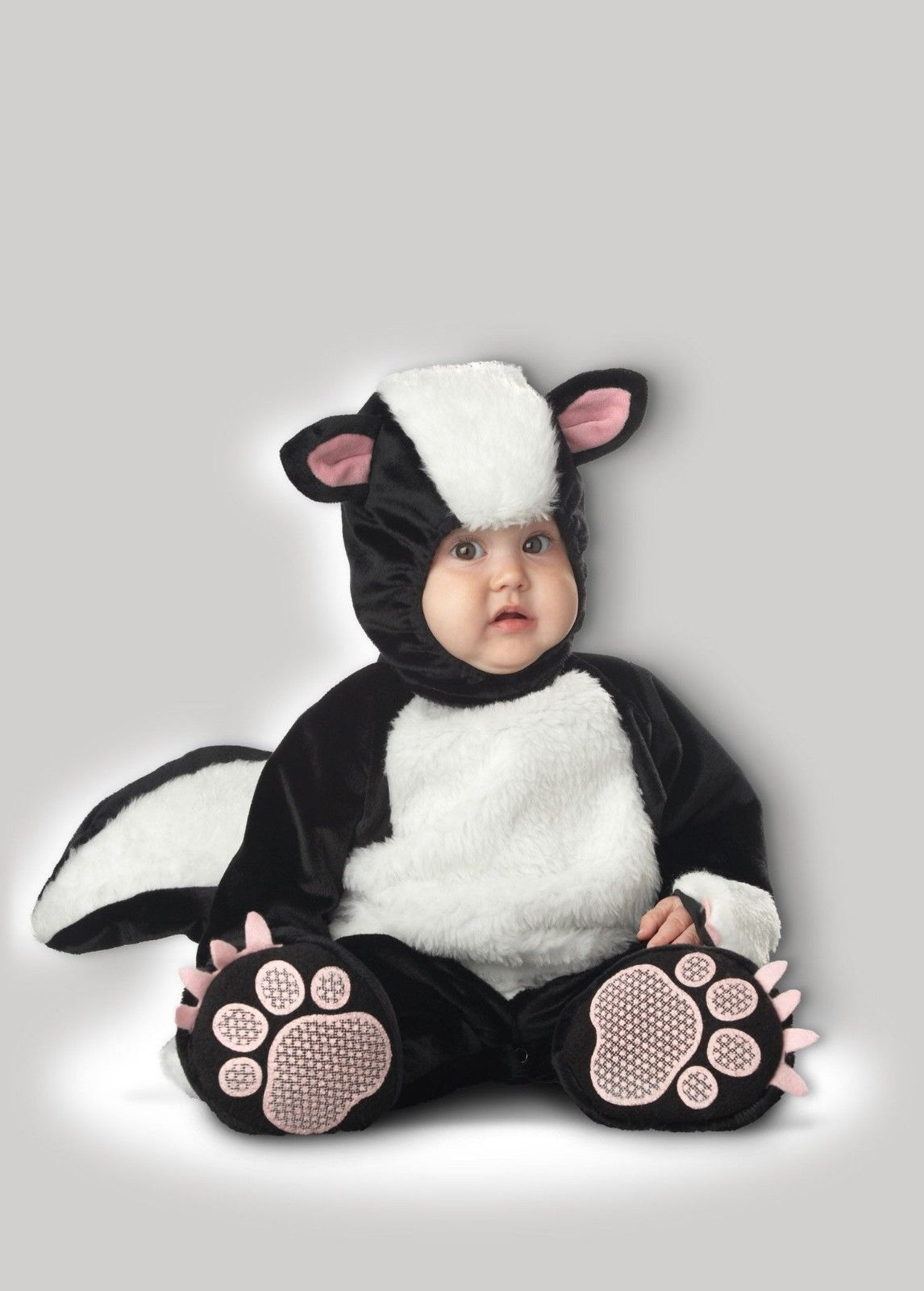 InCharacter Lil Stinker Skunk Furry Animals Infant Baby Halloween Costume 6004