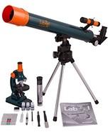 Levenhuk LabZZ MT2 Educational Kit for Kids Microscope and Telescope – S... - $52.55