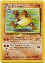 Primeape 43/64 Uncommon Jungle Unlimited Pokemon Card