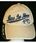 Bass Pro Shops St Louis MO Great Outdoors tan adjustable Dad trucker cap... - $39.95