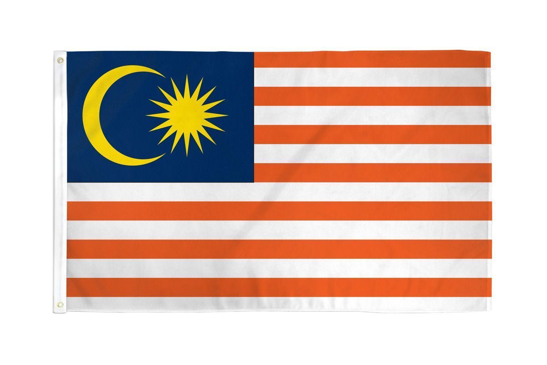 "MALAYSIA 3X5' FLAG NEW 3'X5' 3 X 5 FEET 36X60"" BIG"