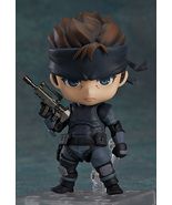 Good Smile Nendoroid No 447 Metal Gear Solid Snake (Re-Run) Action Figure - $112.00