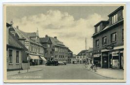 Osterbrogade Street Scene Logstor Denmark 1954 postcard - $6.44