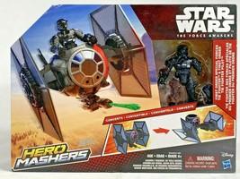 Star Wars Hero Mashers Episode VII TIE Fighter and TIE Fighter Pilot New... - $18.80