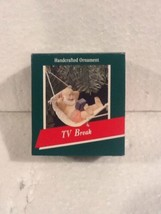Hallmark Keepsake Ornament - TV Break - 1989 - QX409-2 - $5.95