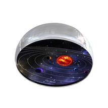 "Solar System 2 Galaxy Illustration Art 2"" Crystal Dome Magnet or Paperwe... - $15.99"