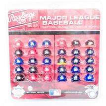 Rawlings Major League Baseball Batting Helmet Standings Board New MLB Full Set - $24.74