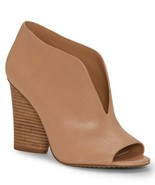Vince Camuto Andrita Leather Block Heel Booties, Multip Sizes Morocco VC... - £87.86 GBP