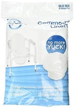 TidyCare Commode Liners – Value Pack - Disposable Bedside Commode Liners... - $19.17
