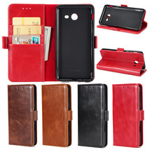 PU Leather Magnetic Case Flip Stand Wallet Cover for Samsung Galaxy J3 2... - $9.99