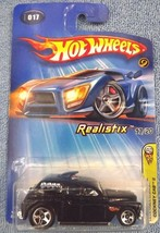 2005 Hot Wheels #17 First Editions 17/20 Realistix COCKNEY CAB II Black w/5Spoke - $6.25