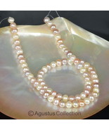 FRESHWATER PEARLS 16.1 inch Strand Multicolor P... - $42.68