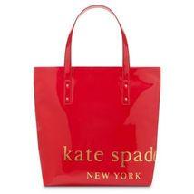 Kate Spade Big Apple Tote Bon Shopper Bag Patent Leather ~ New - £173.97 GBP